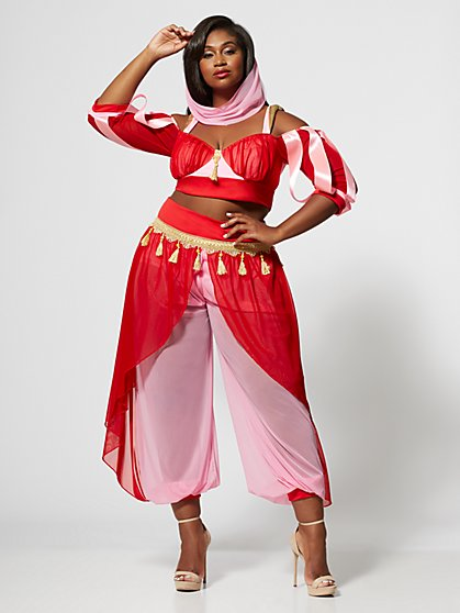 Plus Size Sexy Genie Costume - Fashion To Figure