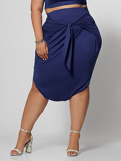 Plus Size Shawnee Harem Skirt - Fashion To Figure