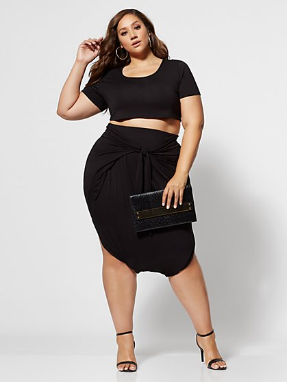 Plus Size Shawnee Harem Top - Fashion To Figure