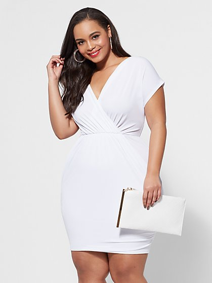 Plus Size Shiloh Bodycon Dress - Fashion To Figure