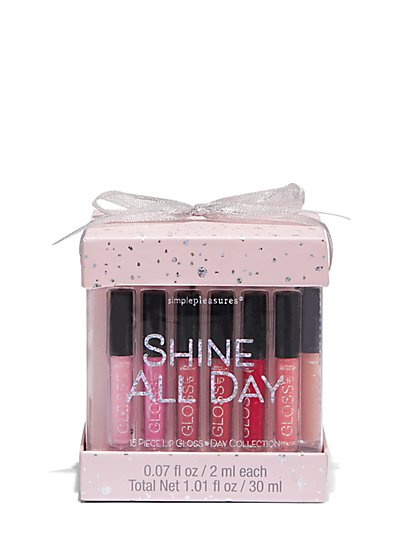Plus Size Shine All Day 15 Piece Lipstick Set - Fashion To Figure