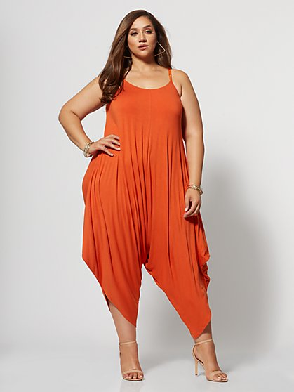 Plus Size Signature - Kaya Harem Jumper - Fashion To Figure