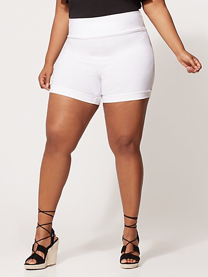 Plus Size Signature - Millennium Shorts - Fashion To Figure