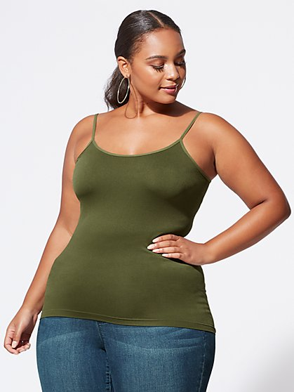 Plus Size Signature - Seamless Cami - Fashion To Figure