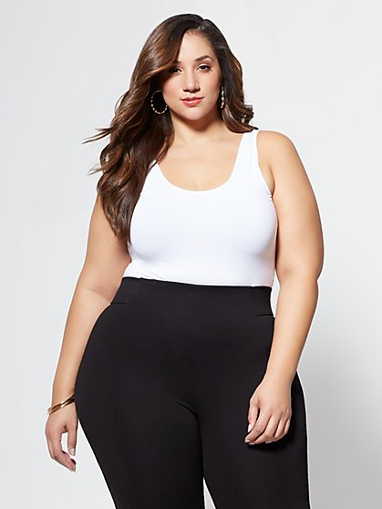 Plus Size Signature - Seamless Tank Top - Fashion To Figure