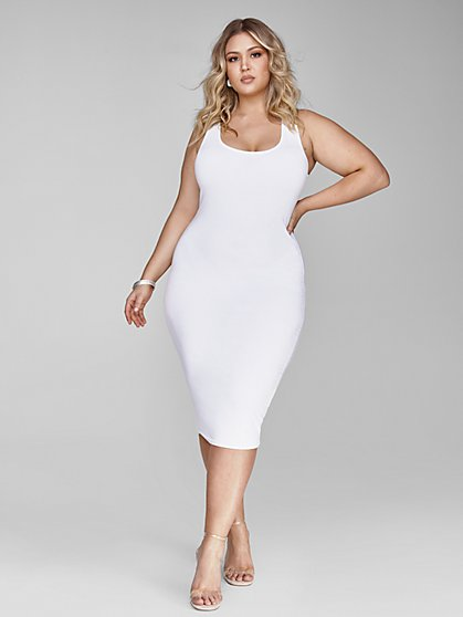 Plus Size Signature - Sleeveless Everyday Midi - Fashion To Figure