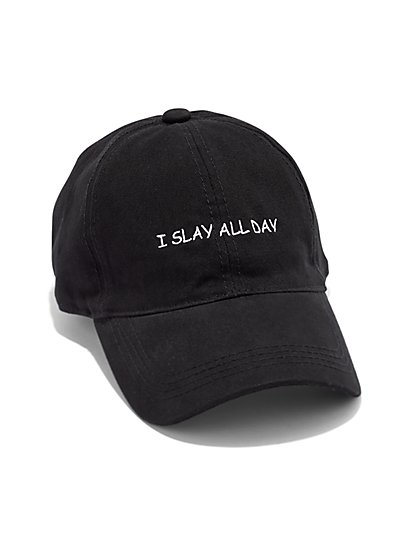 Plus Size Slay All Day Baseball Cap - Fashion To Figure