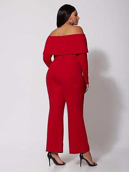 9e6df129fdaa4 ... Plus Size Sookie Foldover Jumpsuit - Fashion To Figure