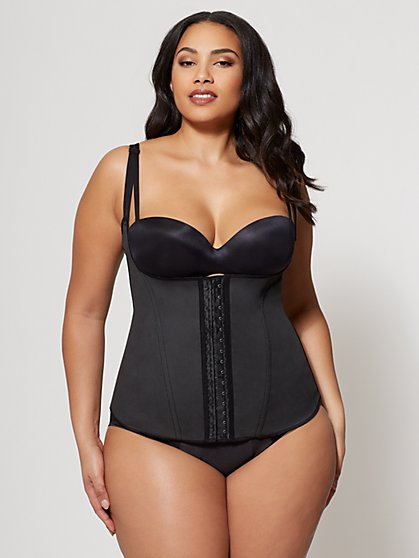 Plus Size Squeem Open-Bust Vest - Fashion To Figure