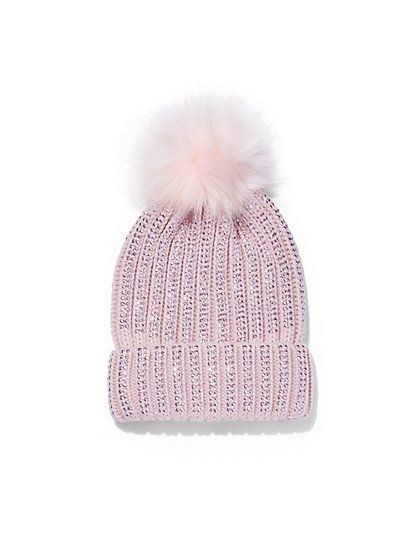 Plus Size Studded Beanie - Fashion To Figure