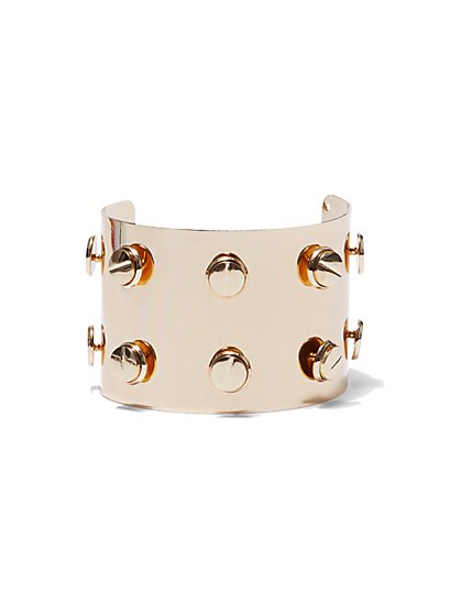 Plus Size Studded Cuff - Fashion To Figure