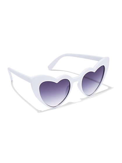 Plus Size Sweetheart Sunglasses - Fashion To Figure