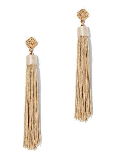 Plus Size Tassel Earrings - Fashion To Figure