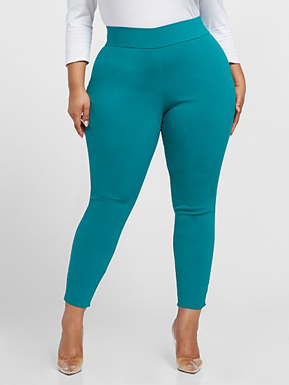 Plus Size The City Jade Pull-on Pants - Fashion To Figure