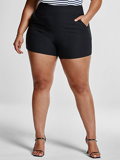 Plus Size The City Short Shorts - Fashion To Figure