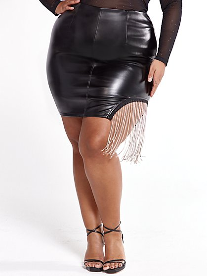 Plus Size The Mass Appeal Skirt - SRV x FTF - Fashion To Figure