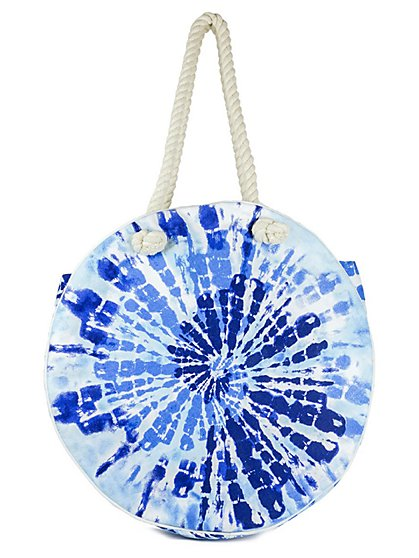 Plus Size Tie Dye Round Bag - Fashion To Figure