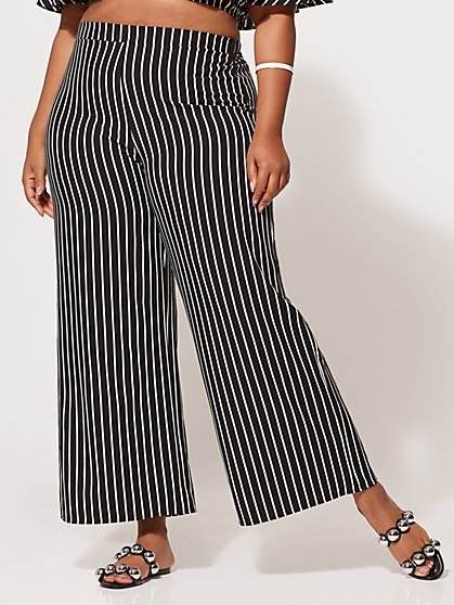 Plus Size Tina Wide-Leg Pants - Fashion To Figure