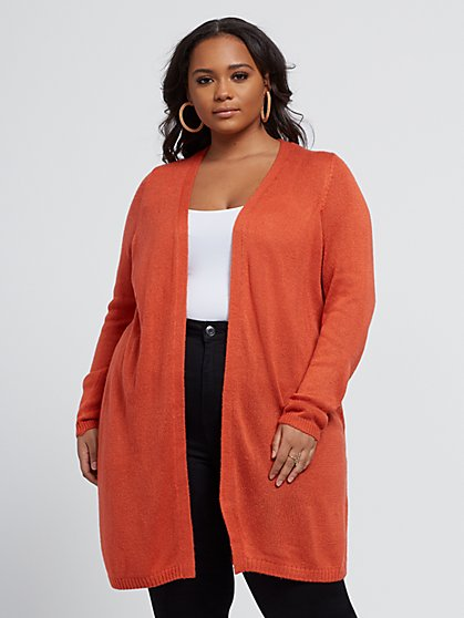 Plus Size Tori Cardigan Sweater - Fashion To Figure
