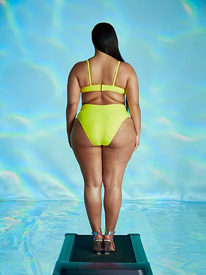 Plus Size Vicky Bikini Bottom - Tabria Majors x FTF - Fashion To Figure