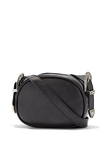Plus Size Western Buckle Bag - Fashion To Figure