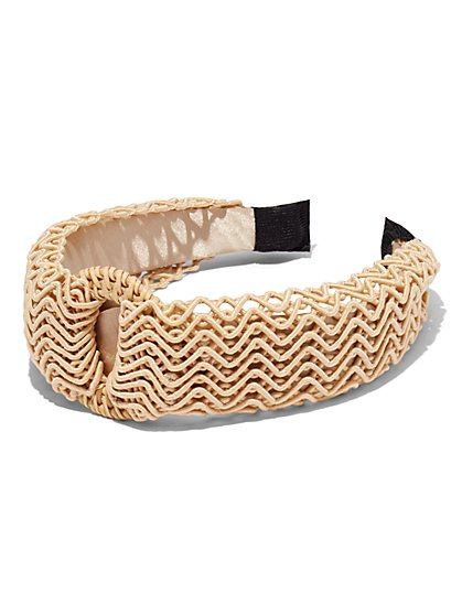 Plus Size Woven Headband - Fashion To Figure